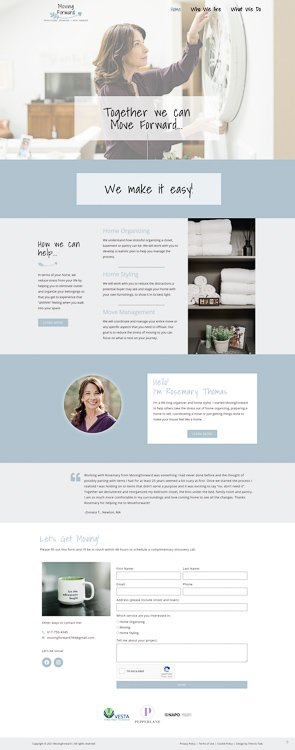 MovingForward Home Page