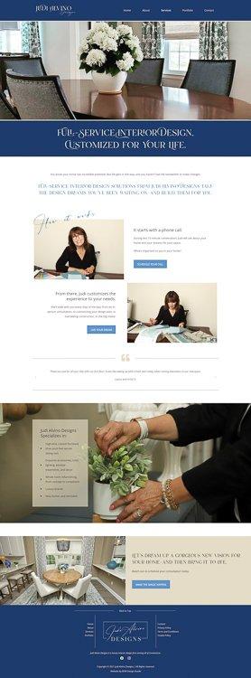 Judi Alvino Designs Services Page