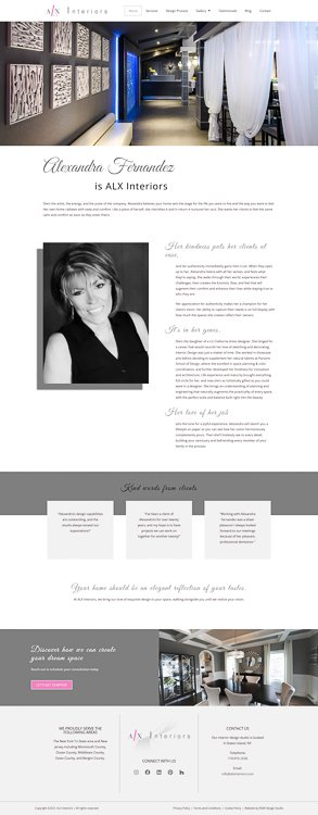 ALX Interiors About Page
