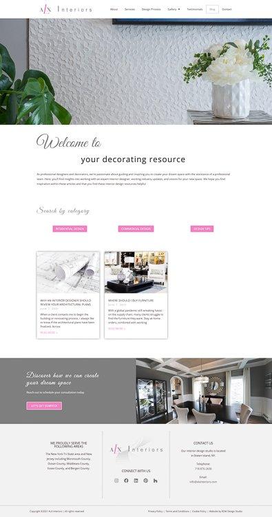 ALX Interiors Blog Page