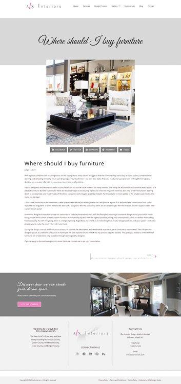 ALX Interiors Blog Post