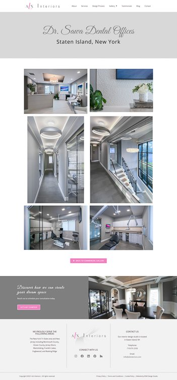 ALX Interiors Commercial Project Page