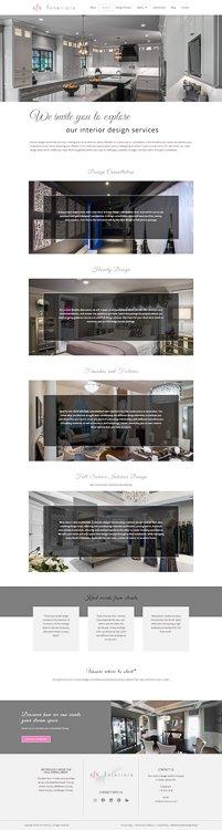 ALX Interiors Services Page