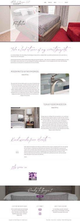 Studio H Designs Portfolio Page