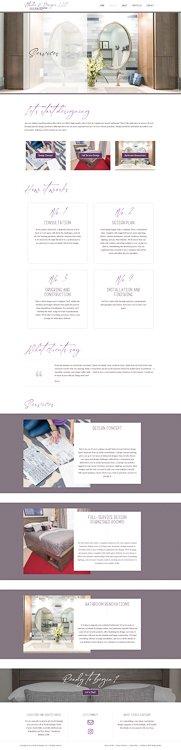 Studio H Designs Services Page